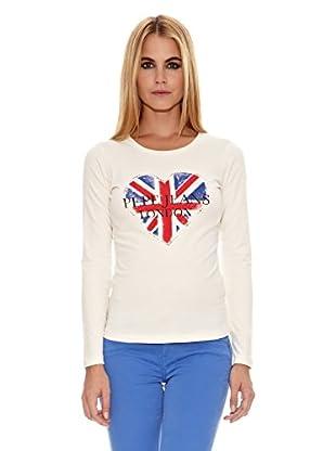 Pepe Jeans London Camiseta Eve (Crudo)