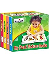 Creative's My First Picture Books (A Set Of 4 Board Books) 0552