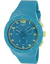 Swatch Analog Blue Dial Men's Watch - SUSL400