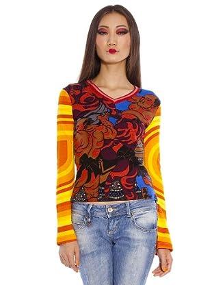 Custo Camiseta Slid (Multicolor)
