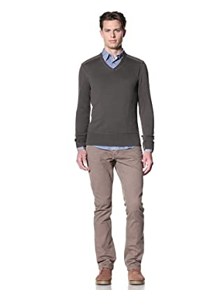 John Varvatos Star USA Men's Drop Needle Sweater