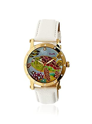 Bertha Women's BR4903 Chelsea White/Multicolor Leather Watch