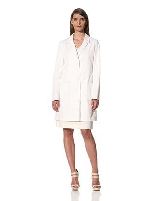 JIL SANDER Women's High Twisted Cotton Blend Coat