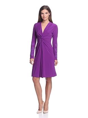 Josie Natori Women's Twist Dress (Amethyst)