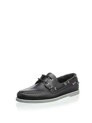 Sebago Men's Docksides Boat Shoe (Black)