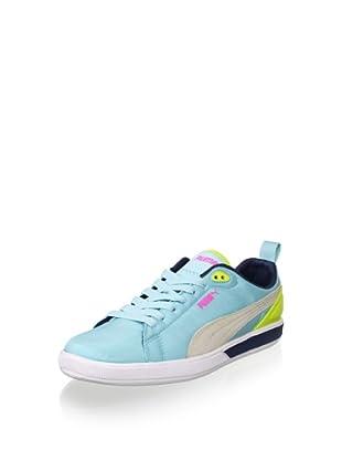 PUMA Women's Future Suede Lite Sneaker (Clearwater)