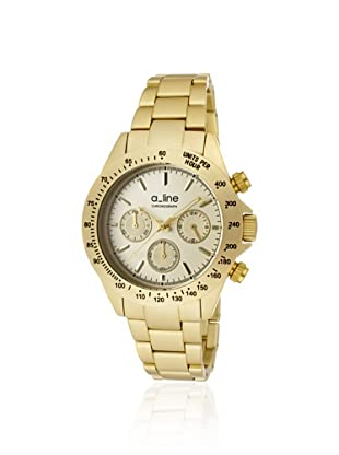 a_line Women's 20050-YG Amore Golden Aluminum Watch