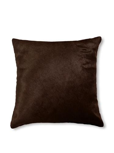 Natural Torino Cowhide Pillow (Chocolate)