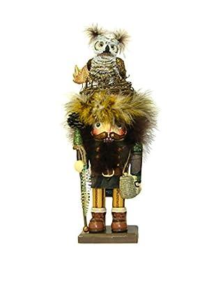 Kurt Adler Hollywood Owl Hat Woodsman Nutcracker