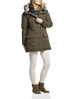 Scotch & Soda Maison Giacca Hooded Down Parka With Removable Fur Trim