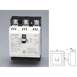 【クリックで詳細表示】EA940MN-5 AC100-230V/30A/3極漏電遮断器(フレーム30)