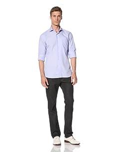 Orian Men's Dress Shirt (Light Blue)
