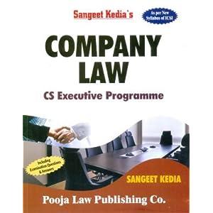 Company Law - CS Executive Programme