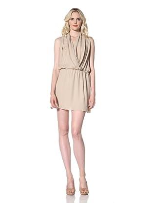 Parker Women's Drape Dress (Sand)