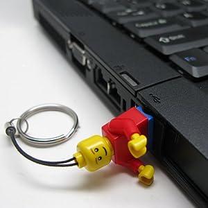 LEGO社オフィシャルのUSBメモリーをPCに刺したところ