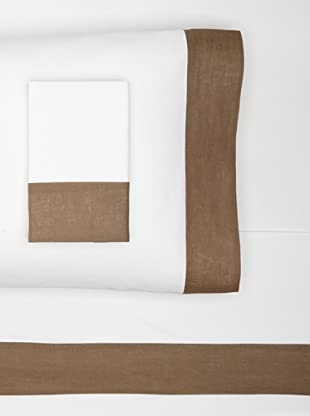Nine Space Viscose from Bamboo Sheet Set (Brown)