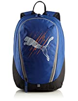 Puma Polyester Blue Casual Backpack (7258303)