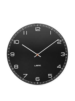 Leff Amsterdam Glass Arabic Clock