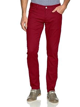 Solid! Pantalón Casual (Rojo)