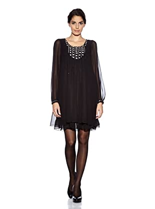 Uttam Boutique Kleid Party (Black)