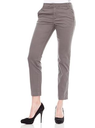 Calvin Klein Jeans Pantalón Satén Deslavado (Gris)