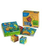 Butterflies Puzzle Block