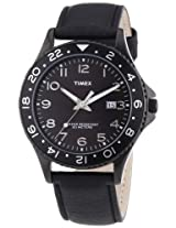 Timex Mens Quartz Watch Timex Style Kaleidoscope Mens Sport T2P176 with Leather Strap