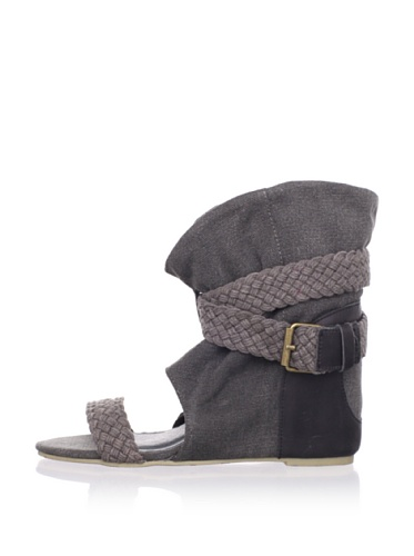 80%20 Women's Molly Open-Toe Boot (Charcoal)