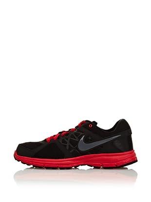 Nike Zapatillas Air Relentless 2 (Negro / Gris / Rojo)
