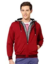 Peter England Zip Front Casual Jacket