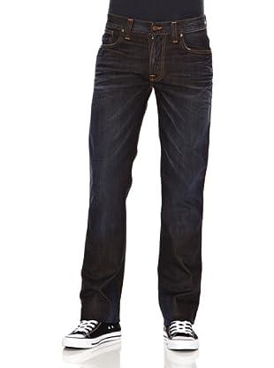 Nudie Jeans Pantalón Slim Jim (Azul oscuro)