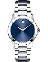 Movado Masino Analogue Blue Dial Men's Watch - 606332