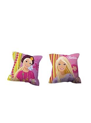 Euromoda Licencias Cojín con Relleno Barbie  2 (Multicolor)
