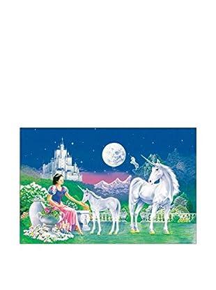 ARTOPWEB Wandbild Robin Koni Unicorn Princess 115x175 cm