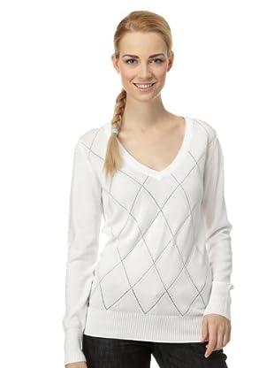 H2O Pullover Kathy mit V-Ausschnitt (Weiß)