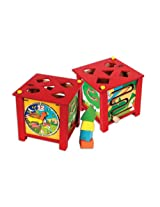 Skillofun Multi Activity Box, Multi Color