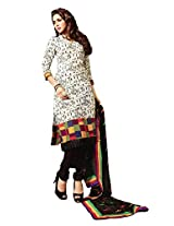 Styleliner Womens Cotton Dress Material (Am-An-6-15 -Multi-Coloured -Free Size)
