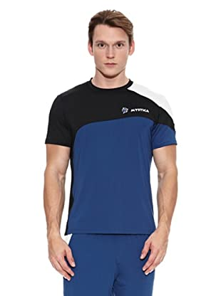 Mystica Camiseta Timah (Azul / Negro)