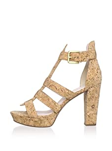 Rosegold Women's Pana Platform Sandal (Natural)