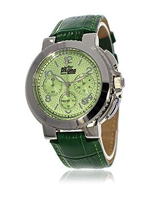 Pit Lane Uhr mit Miyota Uhrwerk Pl-5001-3 grün 36 mm