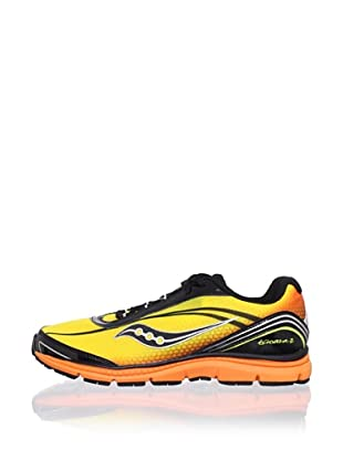 Saucony Kid's Kinvara B Running Shoe (Toddler/Little Kid/Big Kid) (Yellow/Black/Orange)