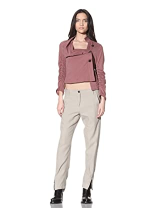 Ann Demeulemeester Women's Conrad Trousers (Beige)