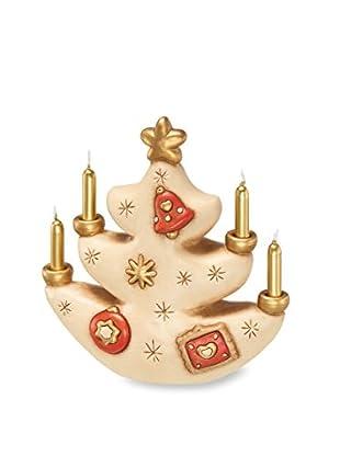 Thun Albero di Natale Portacandela Beige