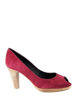 Eye Shoes Zapatos Peep Toe (Vino)