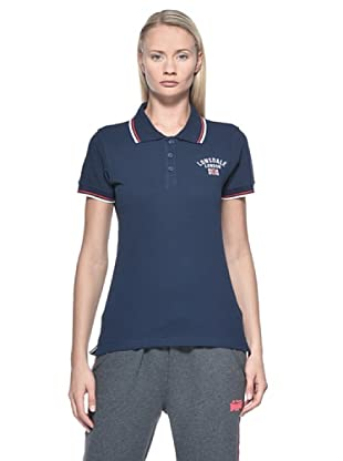 Lonsdale  Ladies Polo (Navy)