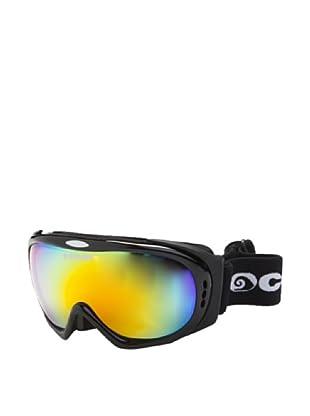 Ocean Máscara Ski Mont Black (Negro Brillante)