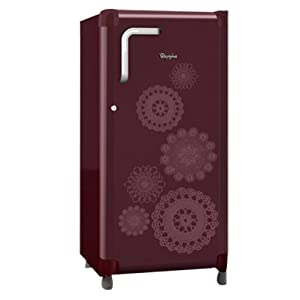 Whirlpool 180L 5 Star 195 GEN 4QG Single Door Refrigerator-Wine Marigold