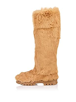 Buffalo London Botas Altas Uzeil (Beige)
