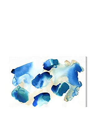 Oliver Gal 'Crystal Clear Blue' Canvas Art
