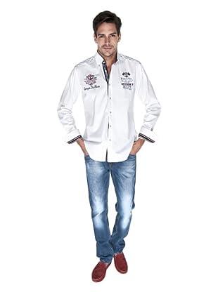 Giorgio Di Mare Camisa Rollo (Blanco)
